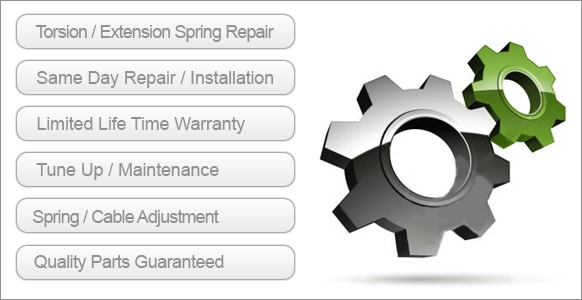 Spring replacement services we offer